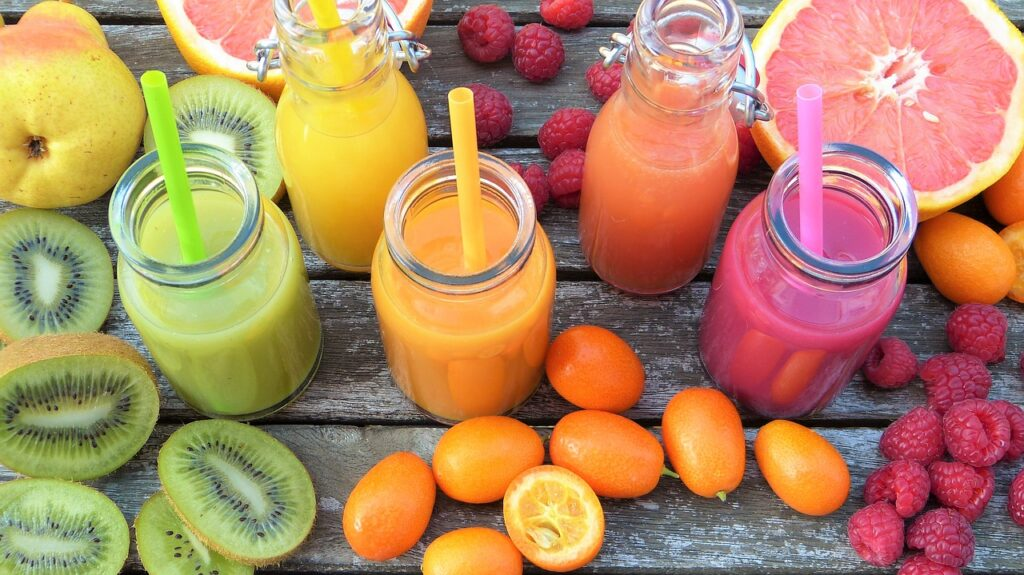 Couleurs | Smoothies | Fruits | Passion | Jus